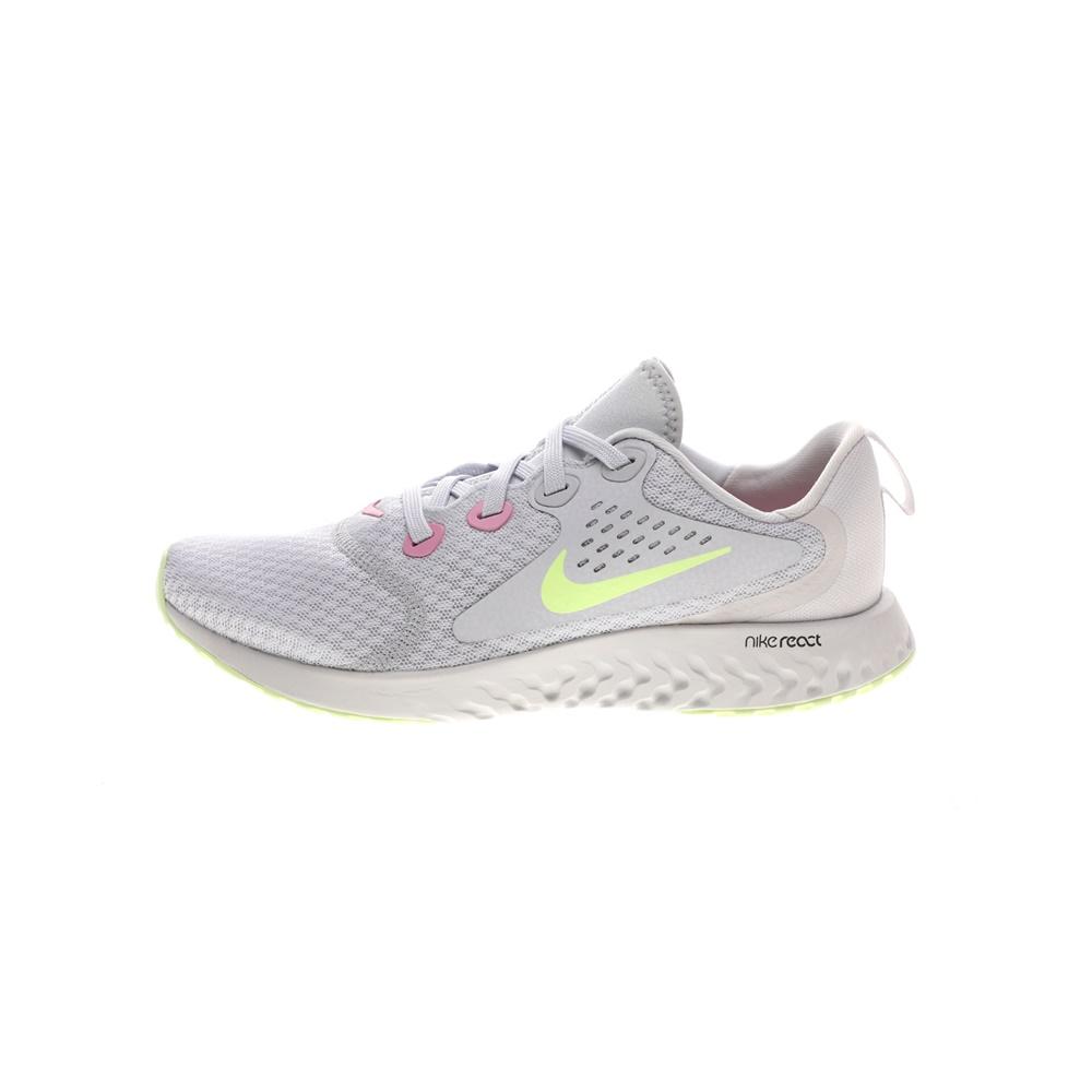 NIKE – Παιδικά παπούτσια running NIKE LEGEND REACT (GS) γκρι κίτρινα