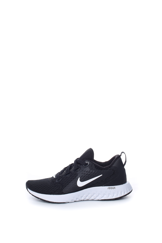 NIKE – Αγορίστικα αθλητικά παπούτσια NIKE LEGEND REACT (GS) μαύρα