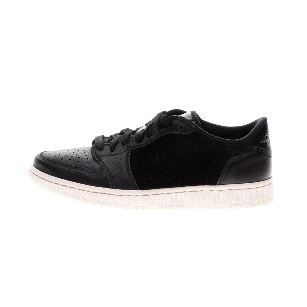 NIKE – Γυναικεία basketball sneakers NIKE AIR JORDAN 1 RETRO LOW NS μαύρα