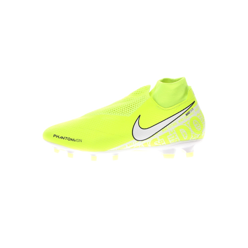 NIKE – Ποδοσφαιρικά παπούτσια ΝΙΚΕ PHANTOM VSN PRO DF FG κίτρινα