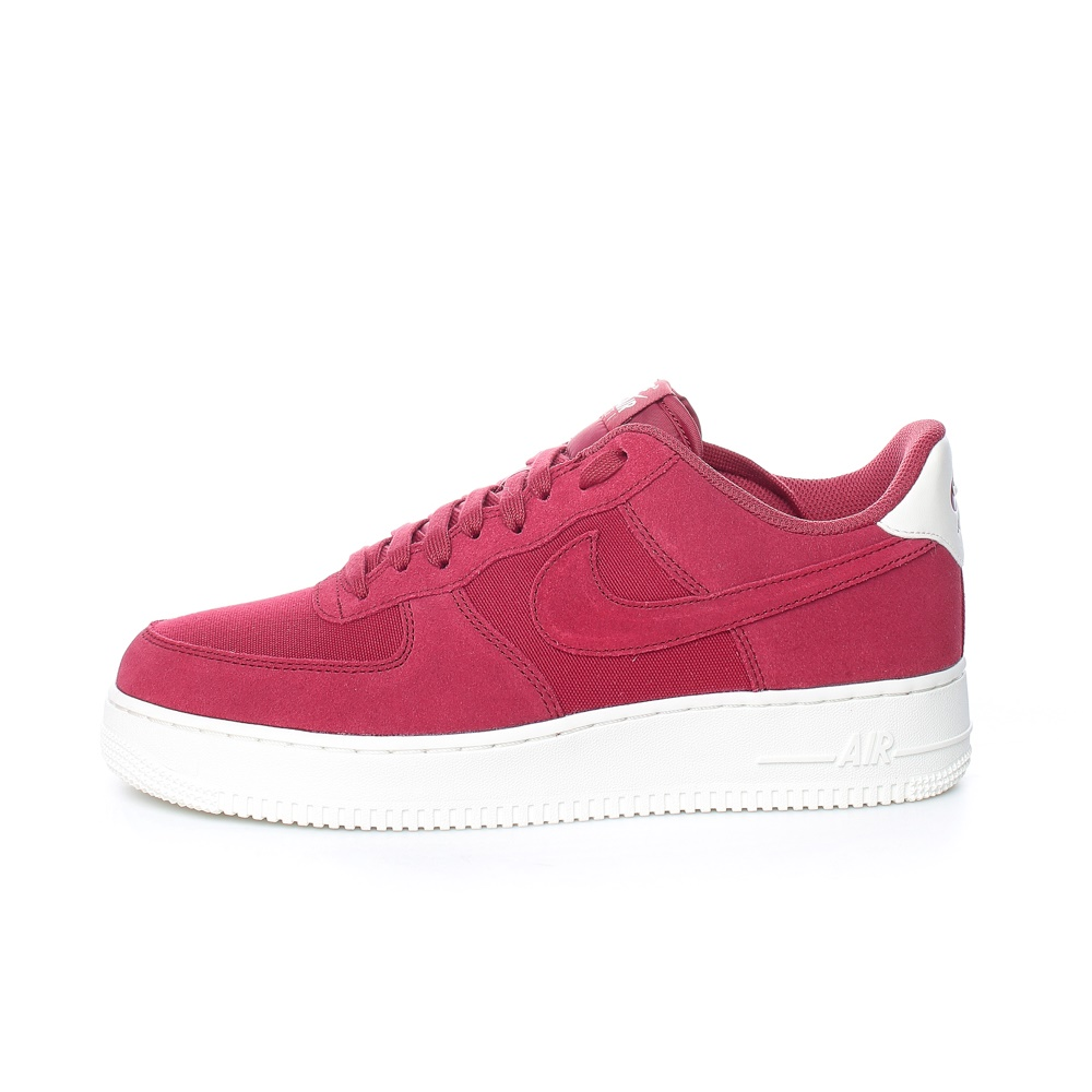 NIKE – Ανδρικά παπούτσια AIR FORCE 1 '07 SUEDE κόκκινα