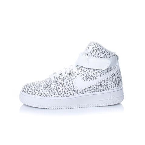 4723ffb1b08 Γυναικεία παπούτσια NIKE AIR FORCE 1 HI LX λευκά με print (1645202.1-9191)  | Factory Outlet