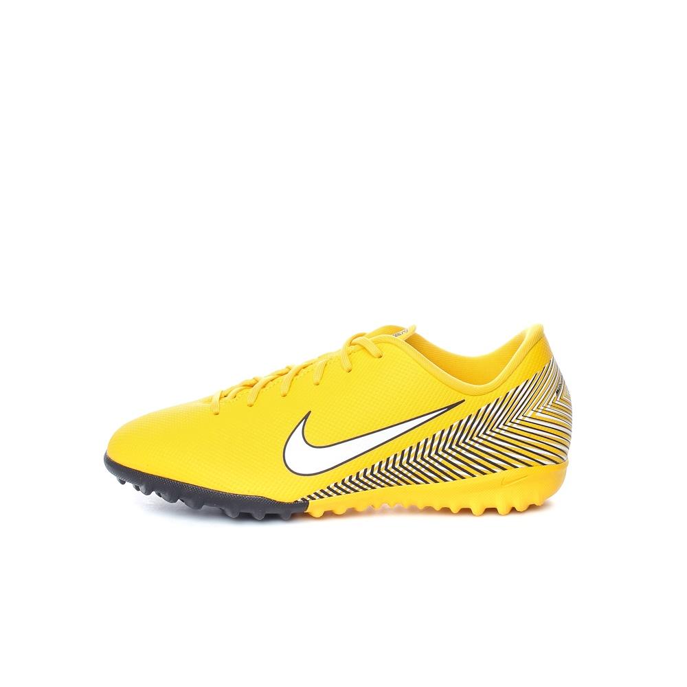 NIKE - Παιδικά παπούτσια ποδοσφαίρου JR VAPOR 12 ACADEMY GS NJR TF κίτρινα παιδικά boys παπούτσια αθλητικά