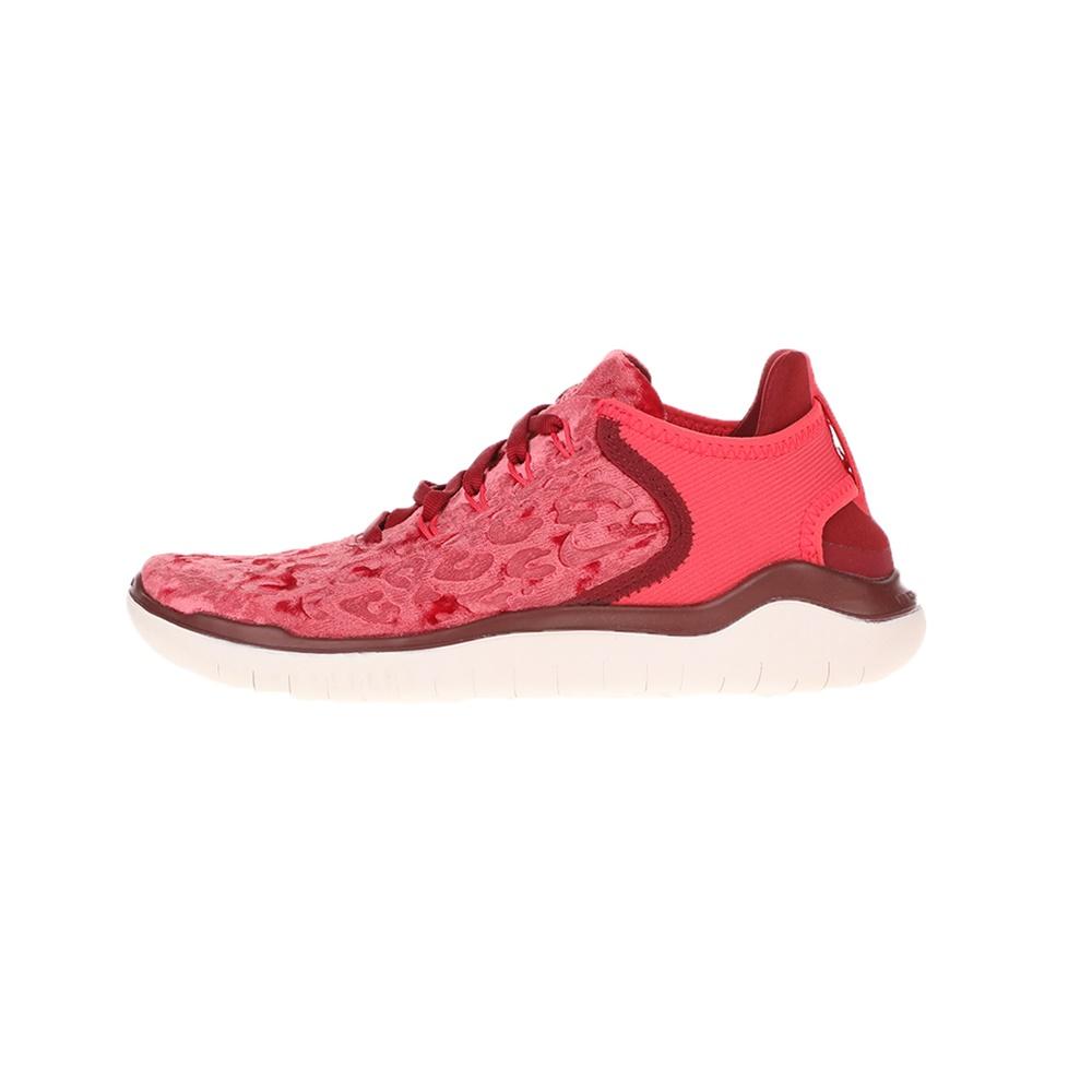 NIKE – Γυναικεία παπούτσια running NIKE FREE RN '18 WILD VELVET κόκκινα