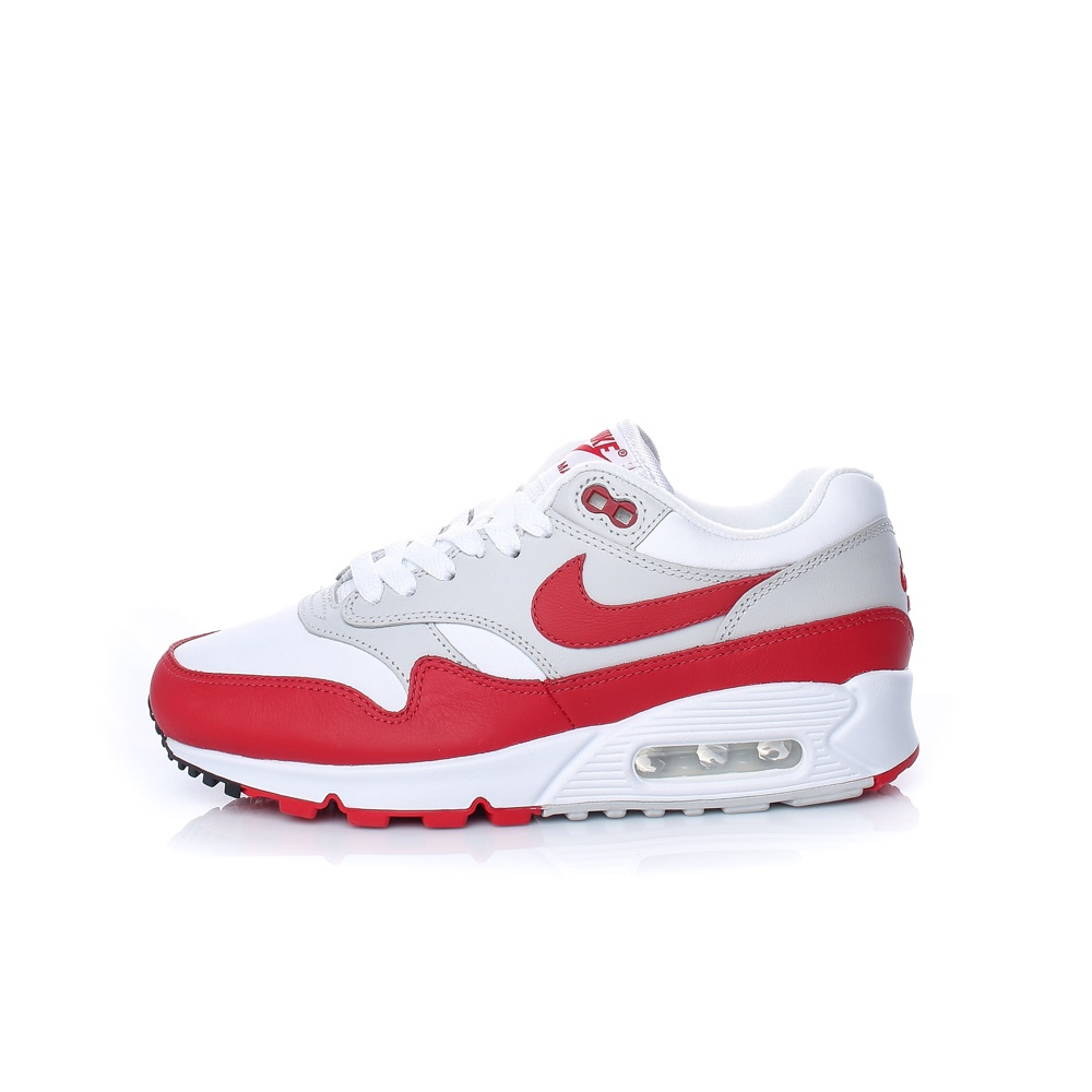NIKE – Γυναικεία παπούτσια NIKE AIR MAX 90 λευκά-κόκκινα