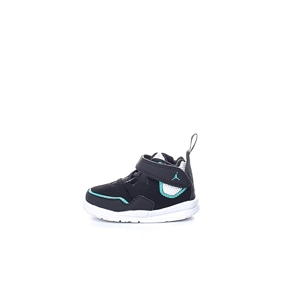NIKE – Βρεφικά αθλητικά μποτάκια NIKE JORDAN COURTSIDE 23 (TD) μαύρα μπλε