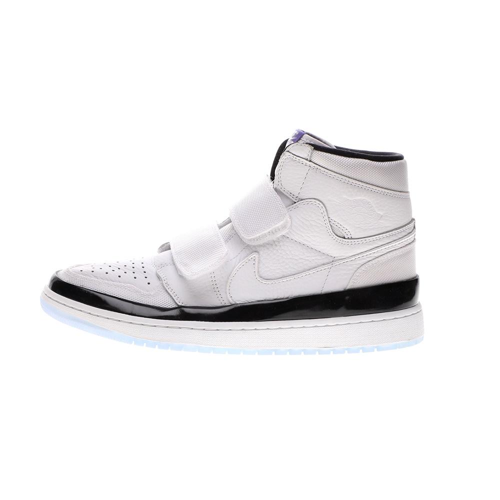 NIKE – Ανδρικά παπούτσια basketball NIKE AIR JORDAN 1 RE HI DOUBLE STRP ασπρόμαυρα