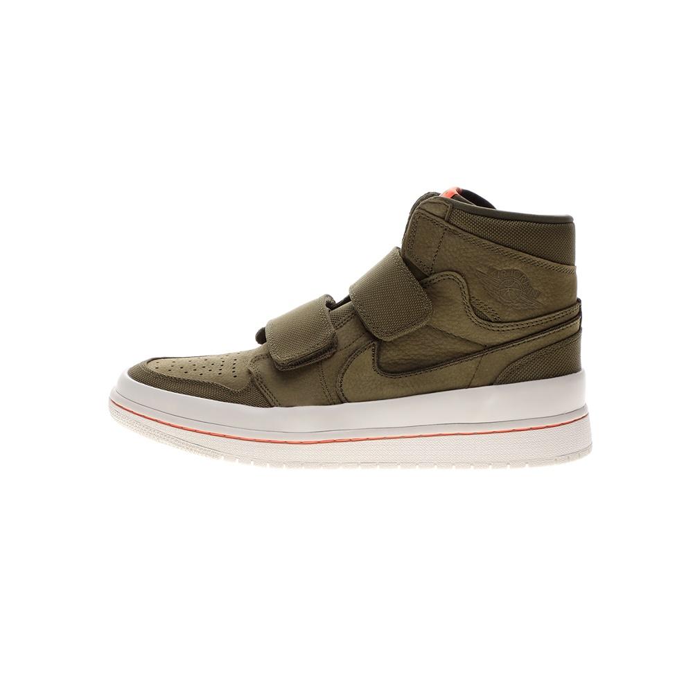 NIKE – Ανδρικά παπούτσια basketball ΝΙΚΕ AIR JORDAN 1 RE HI DOUBLE STRP λαδί πορτοκαλί