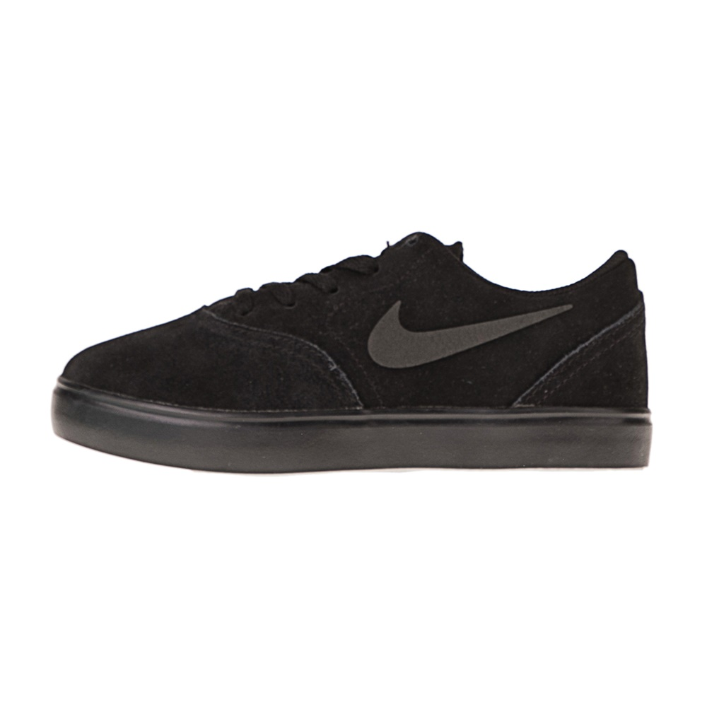 NIKE – Παιδικά sneakers NIKE SB CHECK SUEDE (PS) μαύρα
