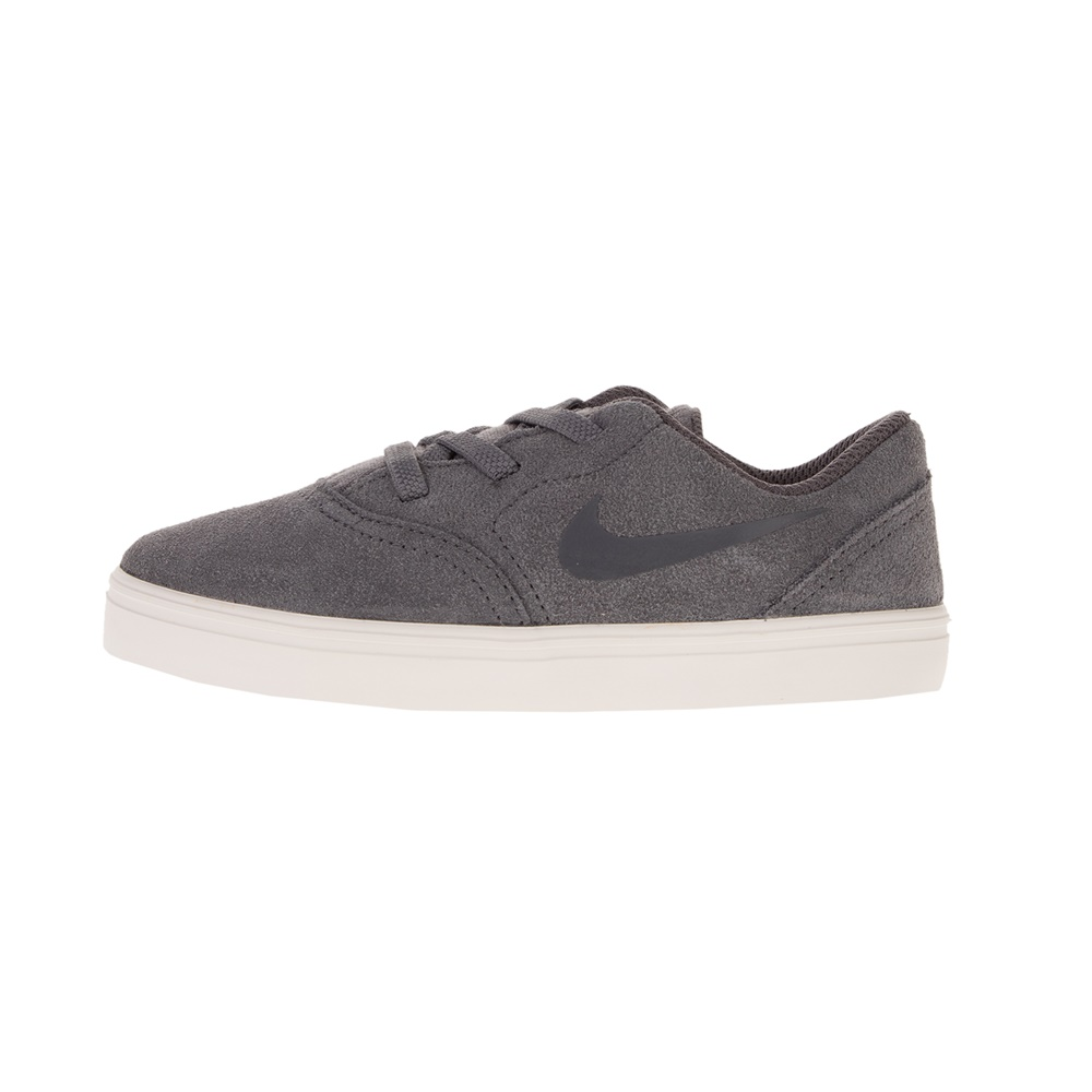 NIKE – Παιδικά sneakers NIKE SB CHECK SUEDE (TD) γκρι