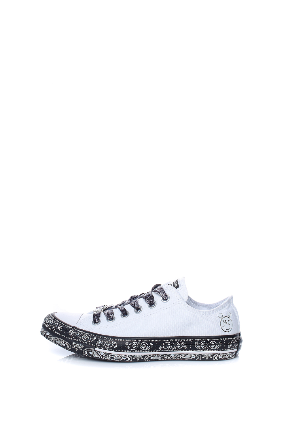 CONVERSE – Unisex sneakers CONVERSE MILEY CYRUS λευκά