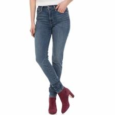 LEVI'S-Γυναικείο τζιν παντελόνι Levi's 721 HIGH RISE SKINNY σκούρο μπλε