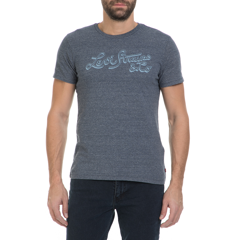 LEVI S - Ανδρικό T-shirt LEVI S μπλε 830991bad8a