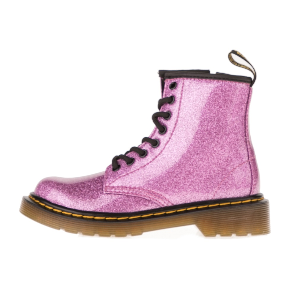 DR.MARTENS – Παιδικά μποτάκια DR.MARTENS Glitter J Juniors Lace Bo ροζ