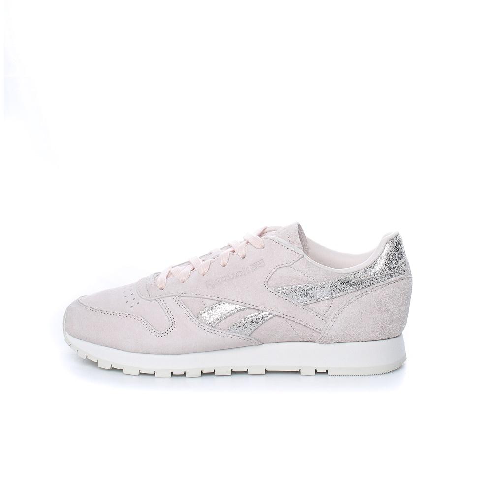 Reebok Classics – Γυναικεία sneakers Reebok Classics CL LTHR SHIMMER ροζ