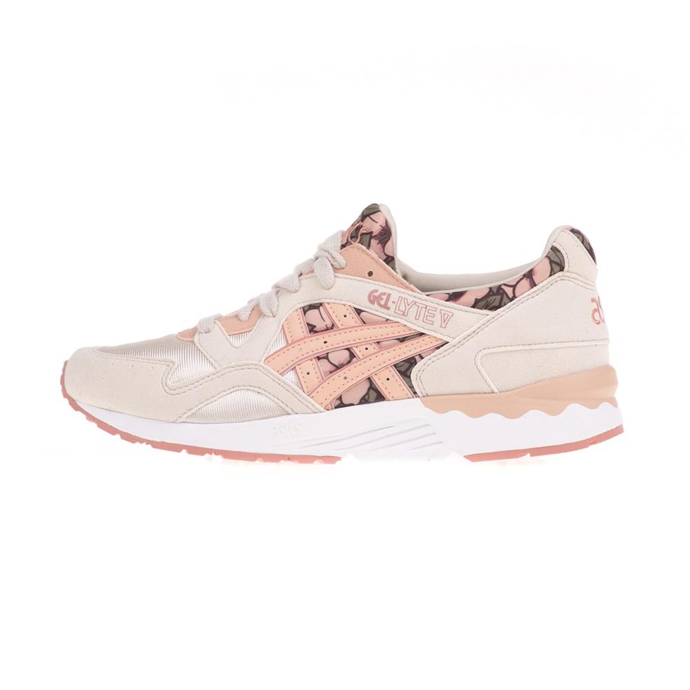 ASICS – Παιδικά αθλητικά παπούτσια ASICS GEL-LYTE V GS εκρού-ροζ
