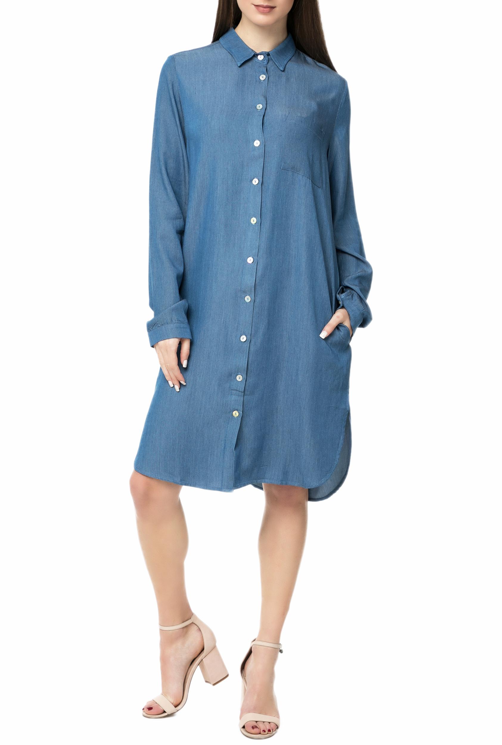 c288458bb65 LA DOLLS - Γυναικείο τζιν φόρεμα L.A. DOLLS BLUE SKY μπλε