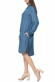 cb1bb98307 LA DOLLS. Γυναικείο τζιν φόρεμα ...