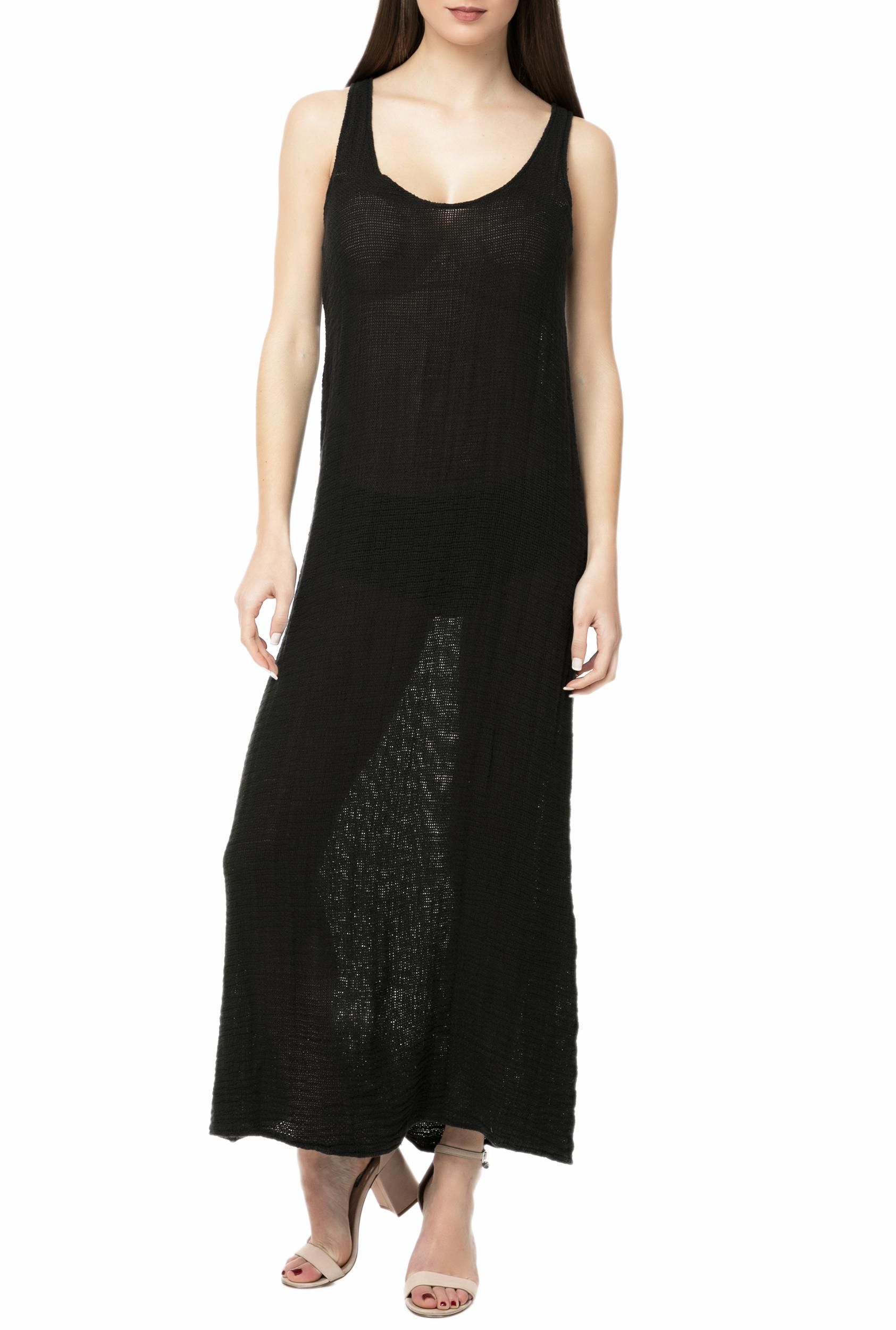 a5f8acaa2c LA DOLLS - Γυναικείο maxi φόρεμα L.A. DOLLS FRESH DRESS μαύρο