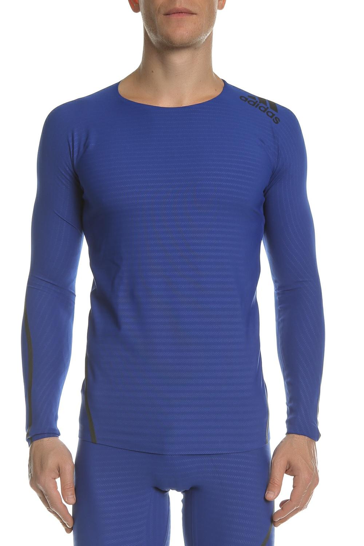 6cf80e757052 GrabitApp  adidas Performance - Ανδρική μακρυμάνικη μπλούζα Alphaskin 360  μπλε