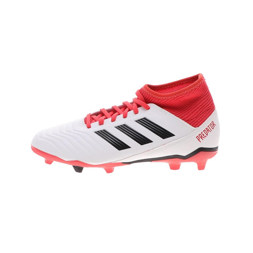 adidas Performance – Παιδικά παπούτσια ποδοσφαίρου adidas PREDATOR 18.3 FG λευκά