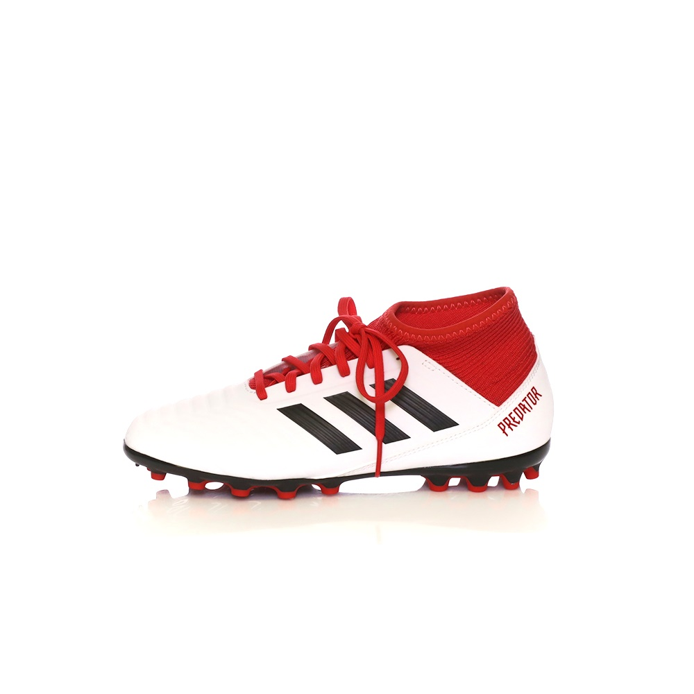 adidas Performance – Παιδικά παπούτσια adidas PREDATOR 18.3 AG λευκά