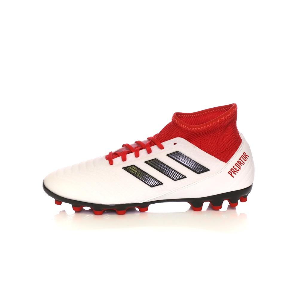 adidas Performance – Ανδρικά παπούτσια adidas PREDATOR 18.3 AG λευκά