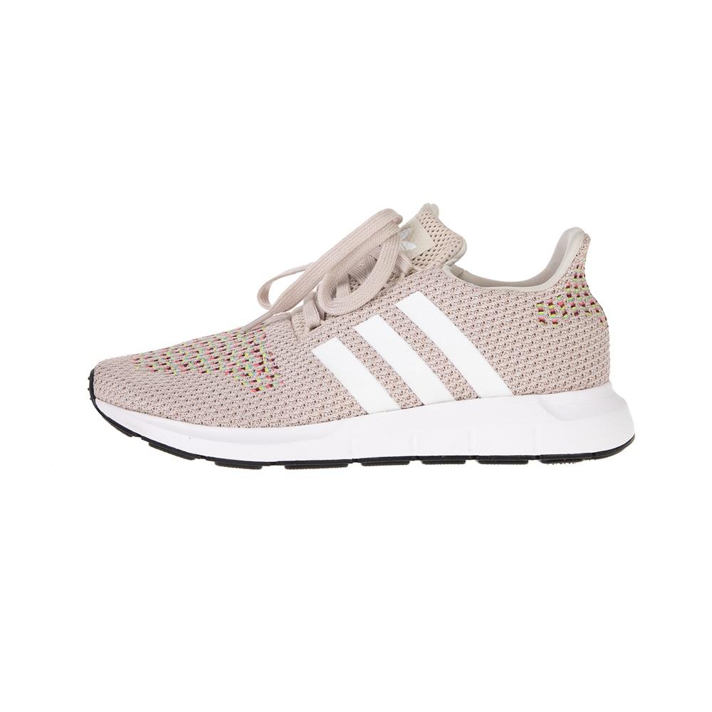 adidas Originals – Γυναικεία αθλητικά running adidas Originals SWIFT RUN W καφέ λευκά