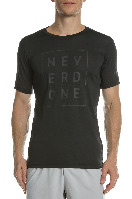 adidas Performance - Ανδρική κοντομάνικη μπλούζα adidas Never Done μαύρη ανδρικά ρούχα αθλητικά t shirt