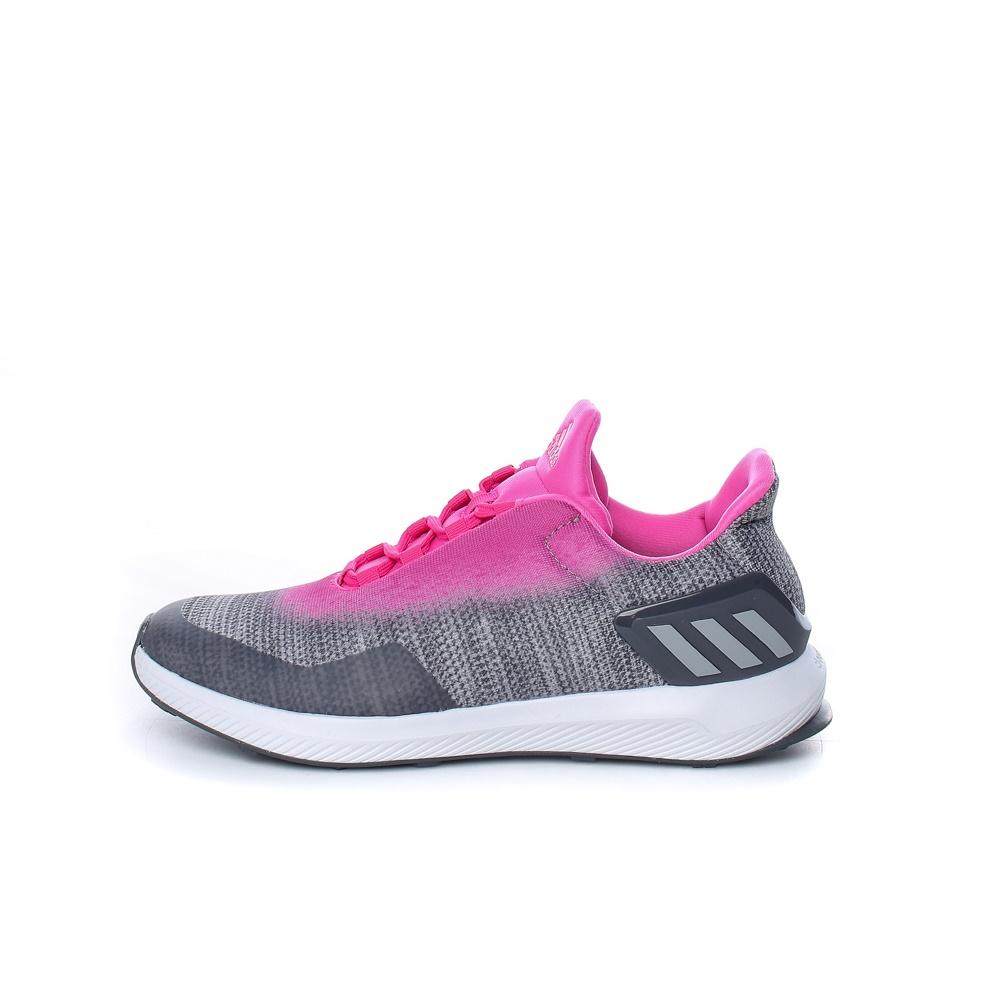 adidas Performance – Παιδικά παπούτσια adidas RapidaRun Uncaged φούξια-γκρι