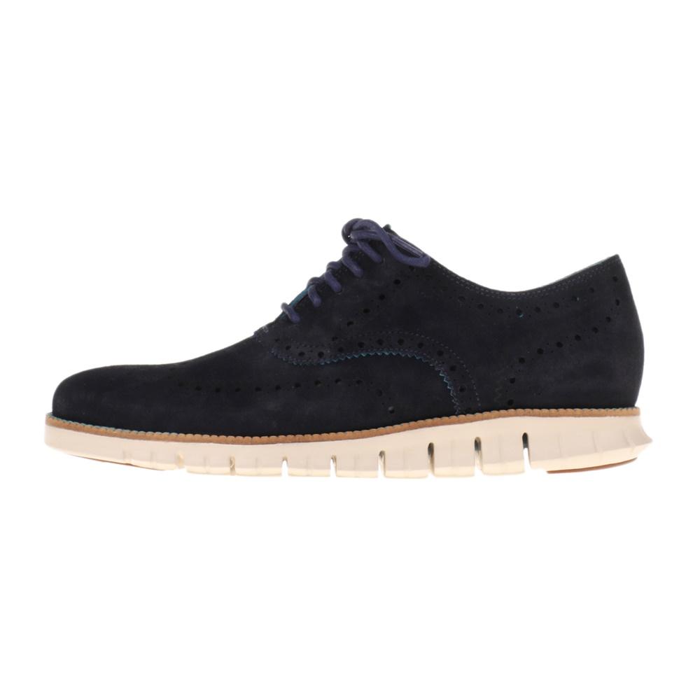 COLE HAAN – Ανδρικά παπούτσια oxford COLE HAAN ZEROGRAND WING OX ναυτικό μπλε