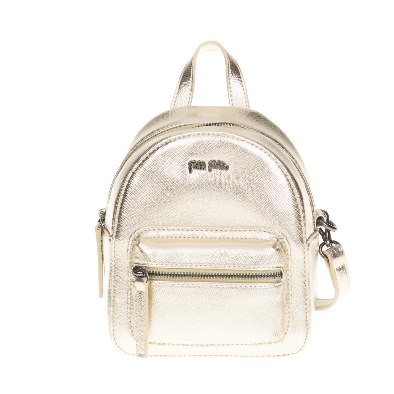 9286f7a904 FOLLI FOLLIE – Γυναικεία τσάντα πλάτης Folli Follie χρυσή 1649033.0-0000
