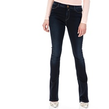 REPLAY-Γυναικείο τζιν παντελόνι καμπάνα Replay μπλε