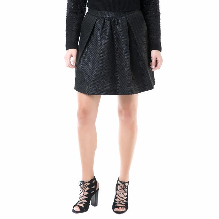 Γυναικεία μίνι φούστα με πιέτες Replay μαύρη (1649202.0-0146 ... 88d17c3f938