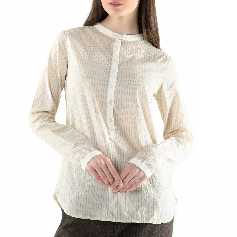 REPLAY – Γυναικεία πουκαμίσα REPLAY εκρού