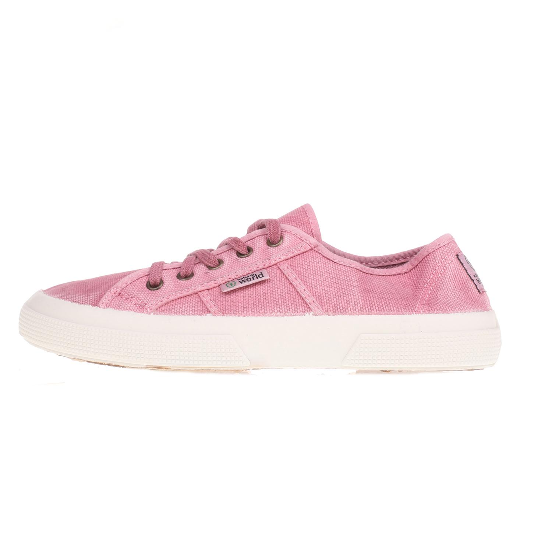 NATURAL WORLD – Γυναικεία sneakers Natural World ροζ