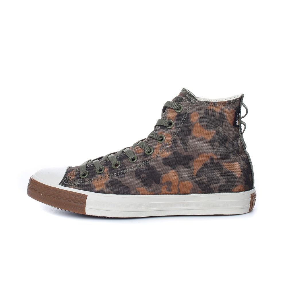 CONVERSE – Unisex ψηλά sneakers CONVERSE CHUCK TAYLOR ALL STAR χακί