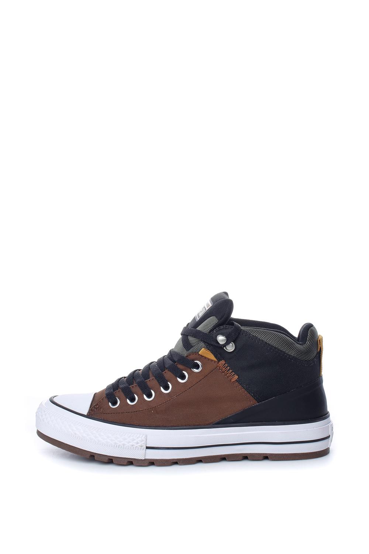 CONVERSE – Ανδρικά μποτάκια Chuck Taylor All Star Street Boot Hi καφέ-μπλε