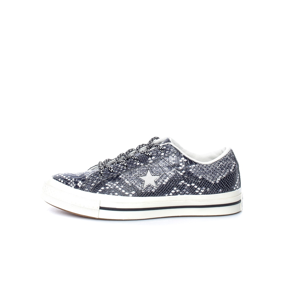 CONVERSE – Unisex sneakers CONVERSE One Star γκρι-λευκά