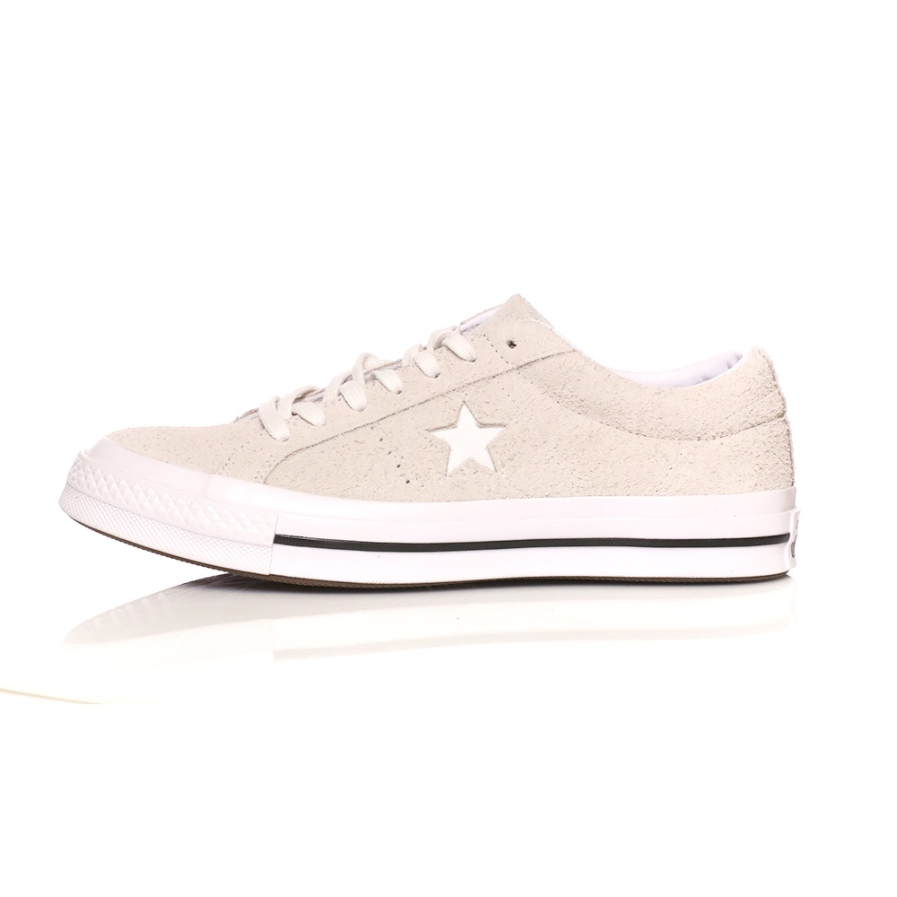 CONVERSE – Unisex sneakers CONVERSE One Star λευκά