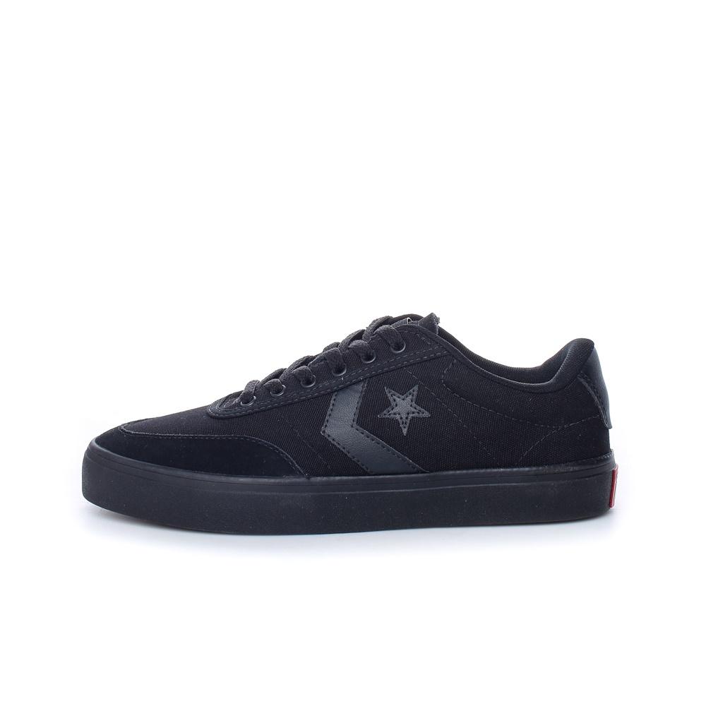 CONVERSE – Unisex sneakers CONVERSE COURTLANDT μαύρα