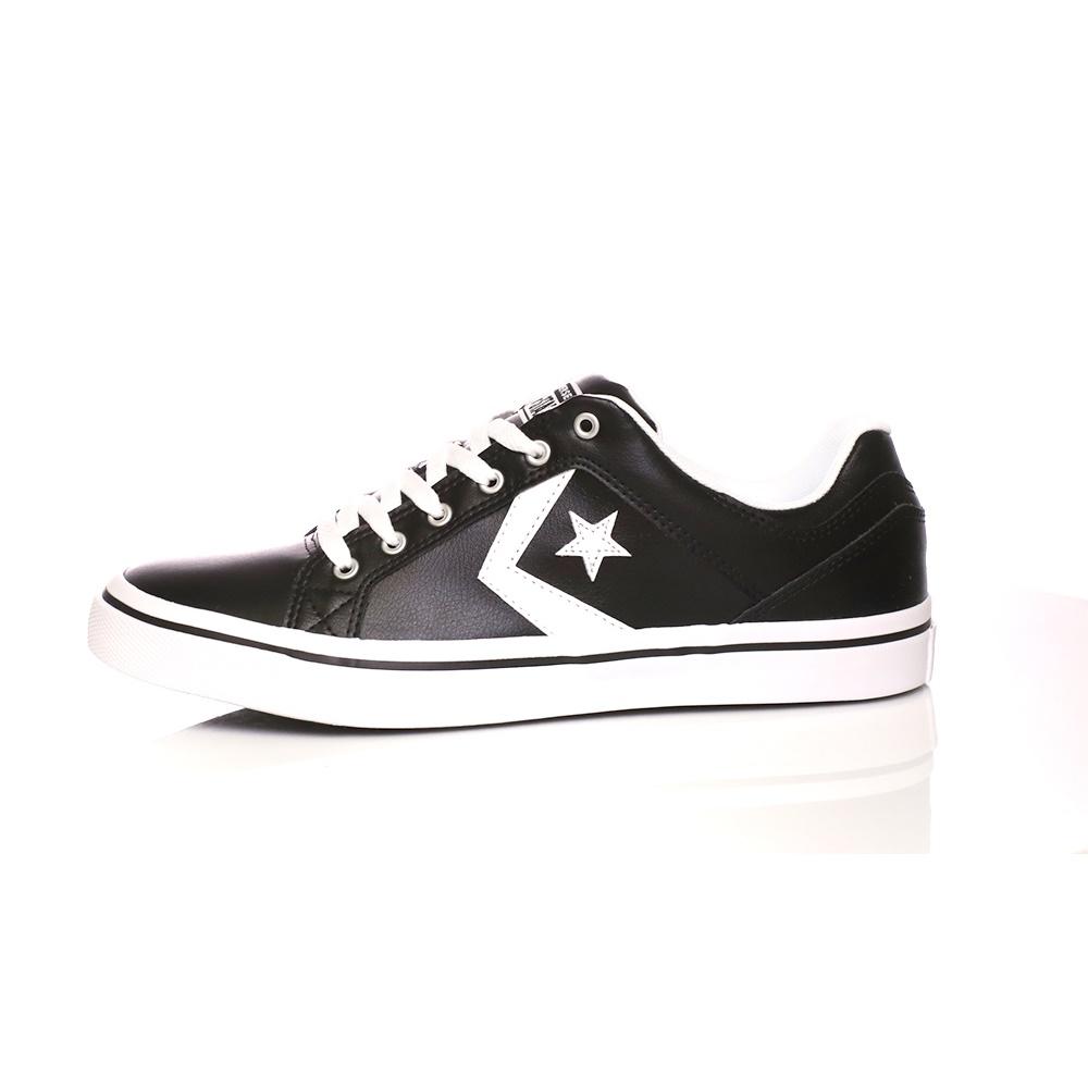 CONVERSE – Unisex δερμάτινα sneakers CONVERSE EL DISTRITO μαύρα