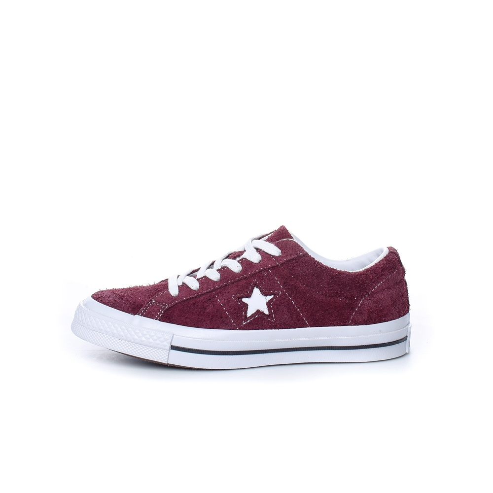 CONVERSE – Παιδικά sneakers CONVERSE ONE STAR μπορντό