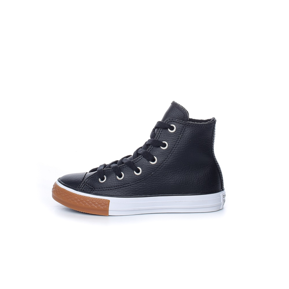 CONVERSE – Παιδικά μποτάκια CHUCK TAYLOR ALL STAR μαύρα