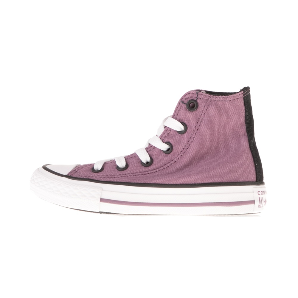 CONVERSE – Παιδικά μποτάκια CONVERSE CHUCK TAYLOR ALL STAR μωβ