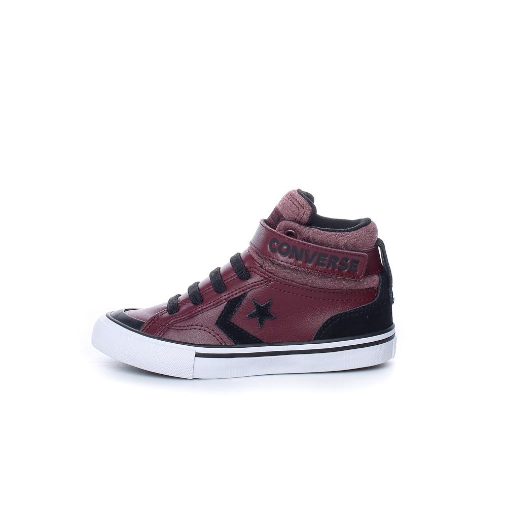 CONVERSE – Παιδικά παπούτσια PRO BLAZE STRAP μπορντό