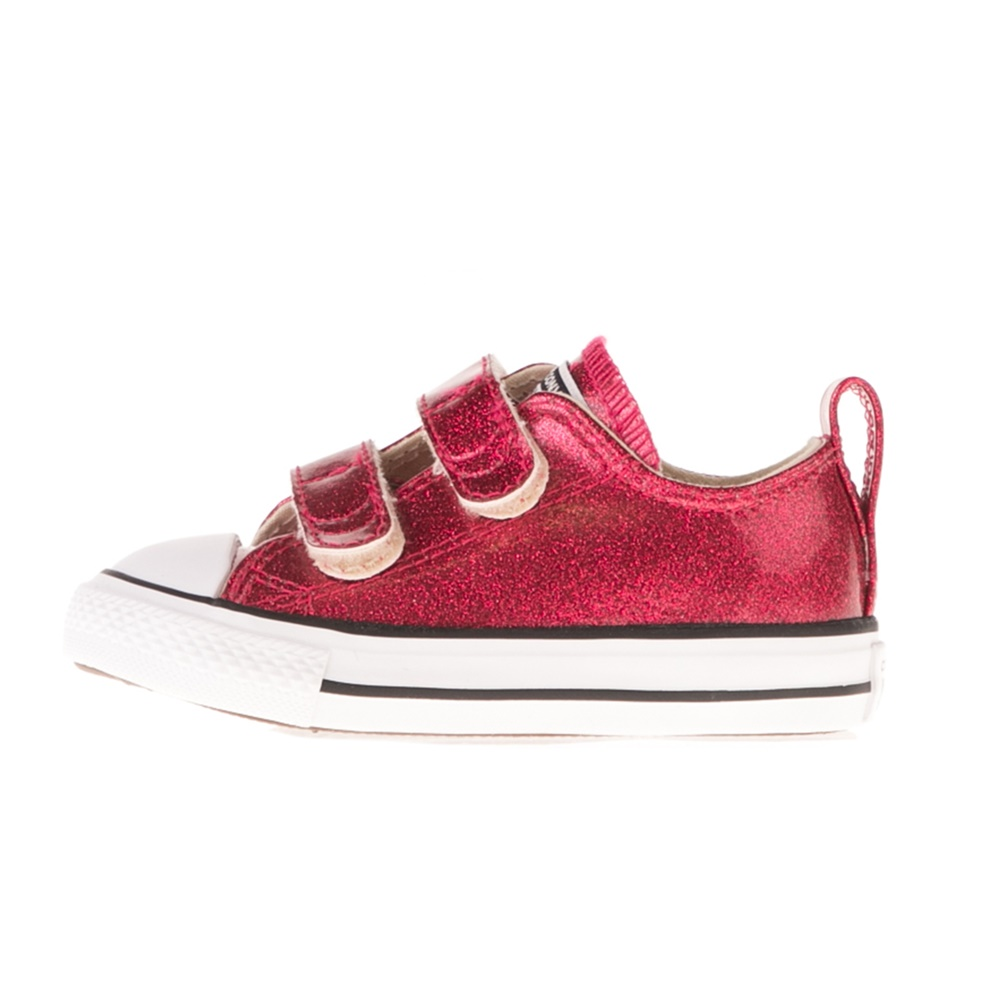 CONVERSE – Βρεφικά sneakers CONVERSE CHUCK TAYLOR ALL STAR 2V κόκκινα