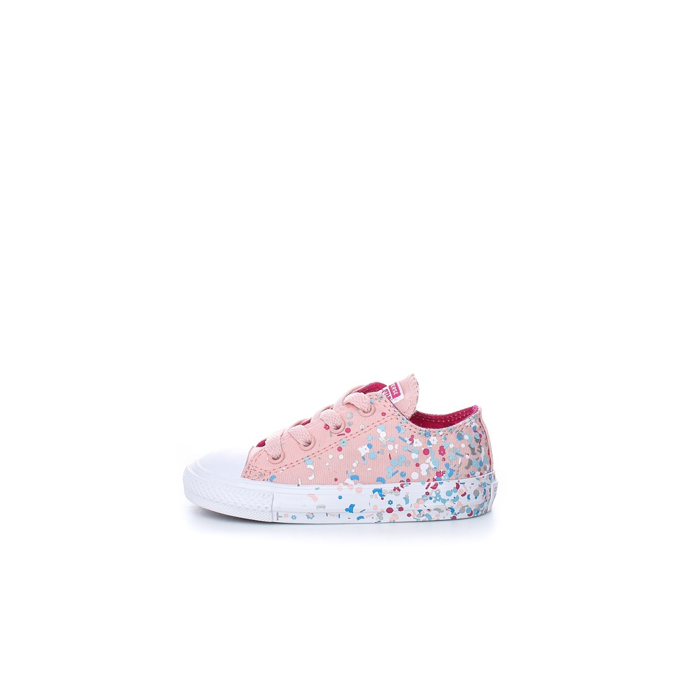 CONVERSE – Βρεφικά sneakers CONVERSE CHUCK TAYLOR ALL STAR ροζ