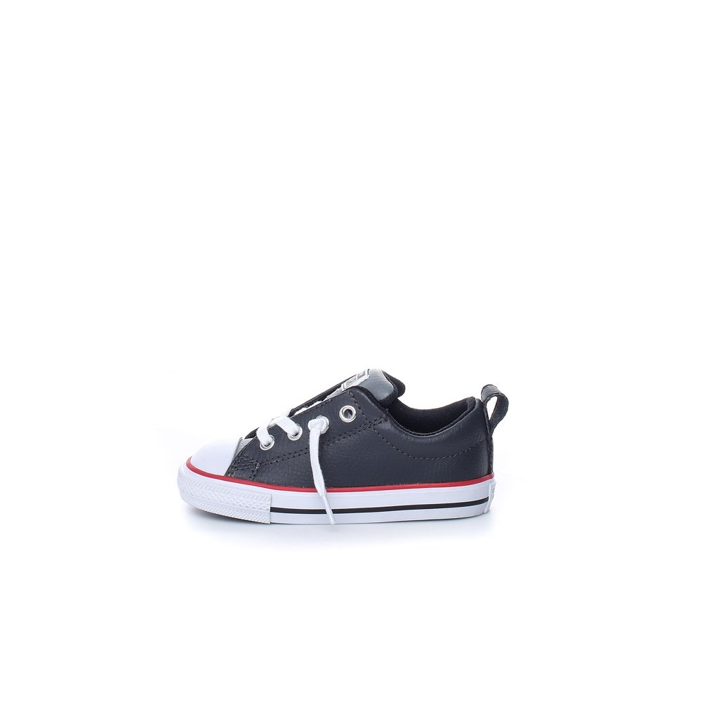 CONVERSE – Βρεφικά sneakers CONVERSE CHUCK TAYLOR ALL STAR STREET μαύρα