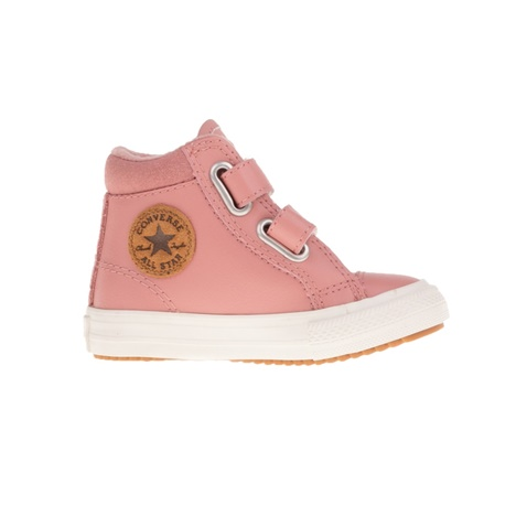 CONVERSE-Βρεφικά μποτάκια CONVERSE CHUCK TAYLOR ALL STAR 2V PC BO ροζ